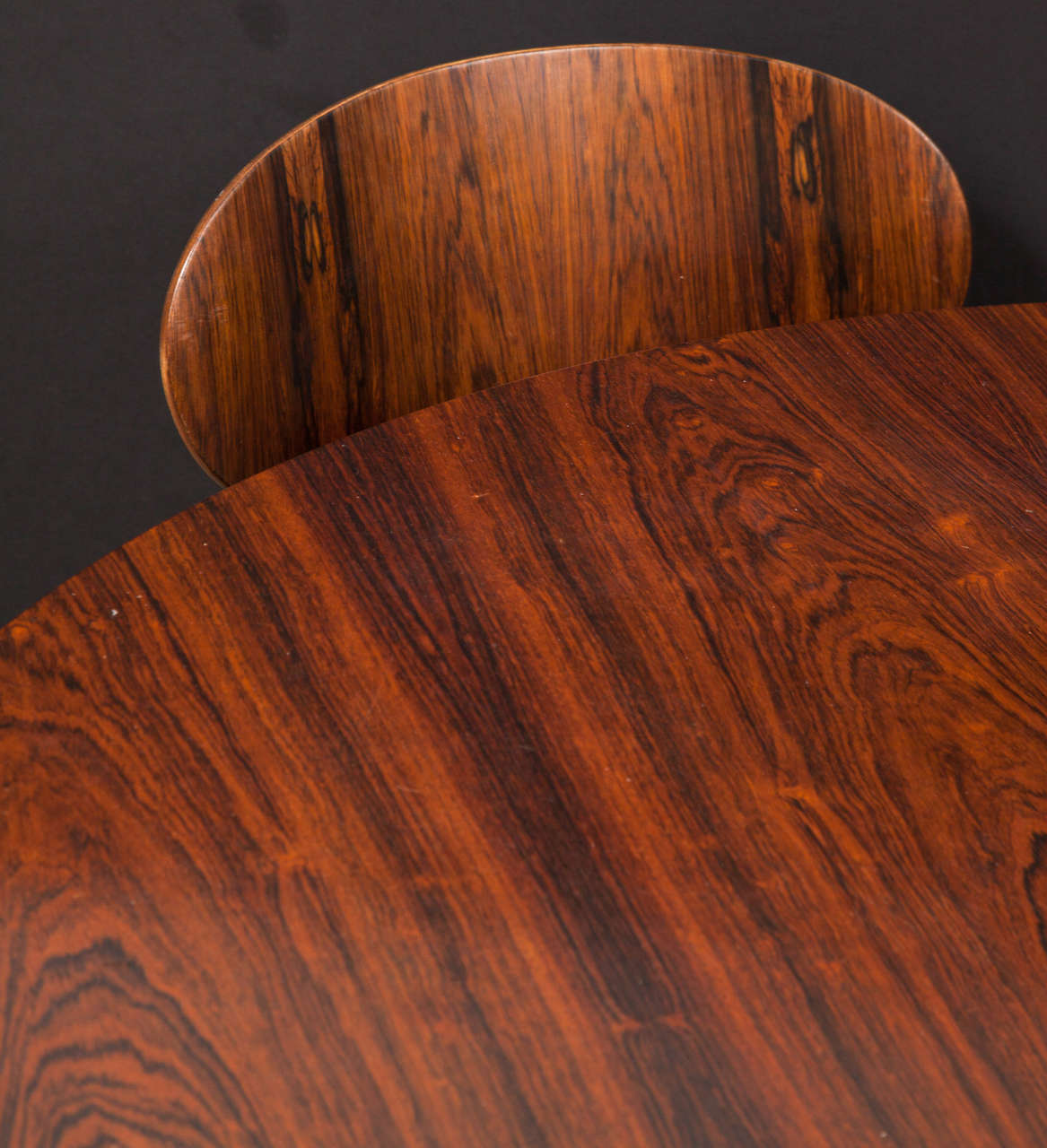 Ant Rosewood Table and Dining Chair Set by Arne Jacobsen 5