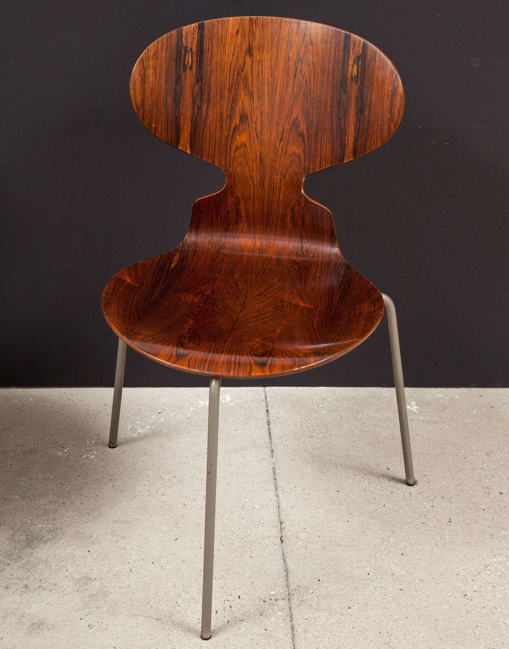 Ant Rosewood Table and Dining Chair Set by Arne Jacobsen 9