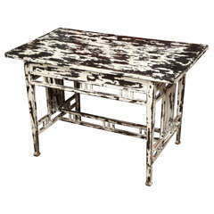 Samerang Table in Black & White