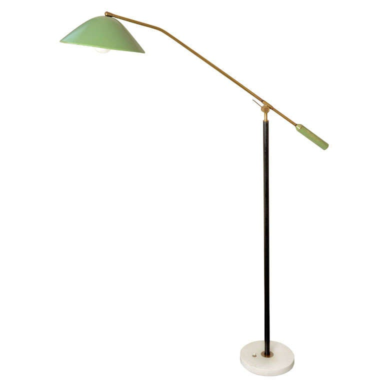 Iconic italian floor lamp by stilux at 1stdibs for Iconic design lamps