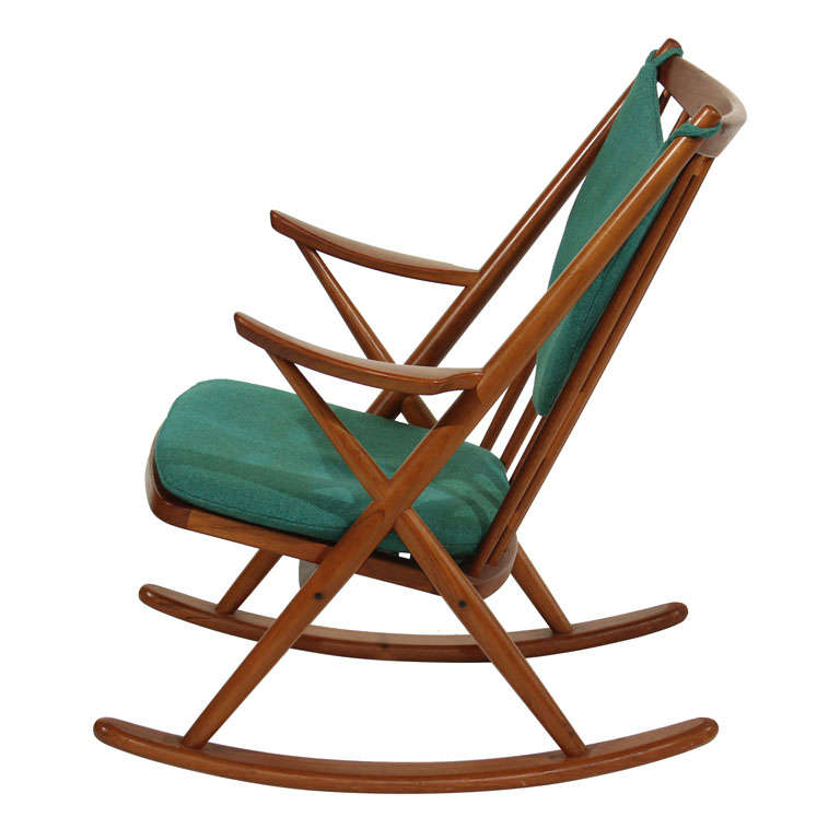 Frank Reenskaug Model 182 Rocking Chair at 1stdibs