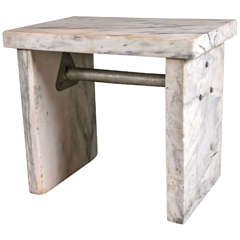 c1920's Marble Pastry Table