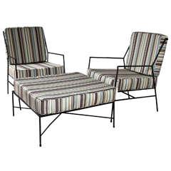 Suite of Iron Furniture