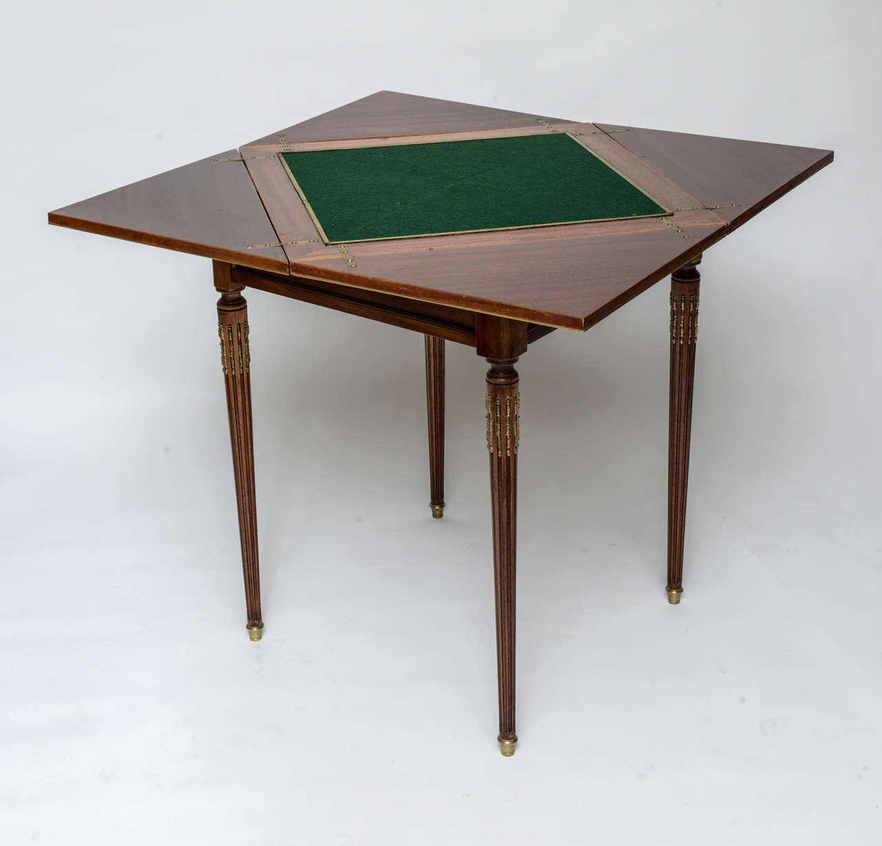 Louis xvi style envelope game table at 1stdibs for 11 in 1 game table