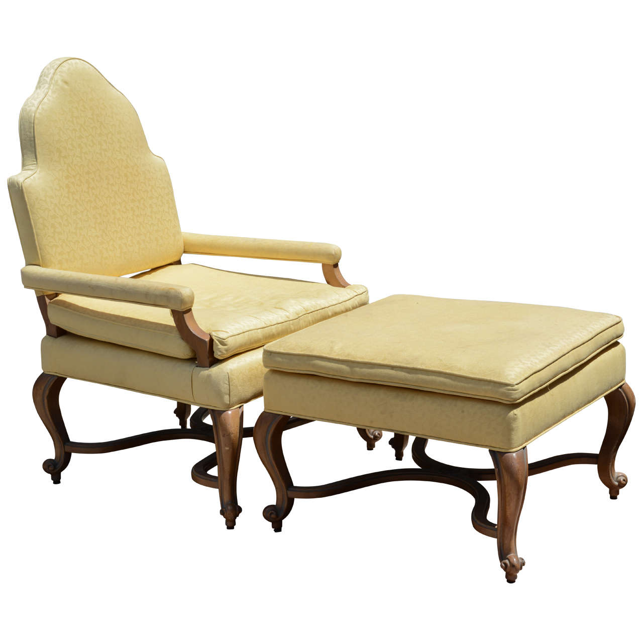 28 oversize chair and ottoman hickory white oversized broca