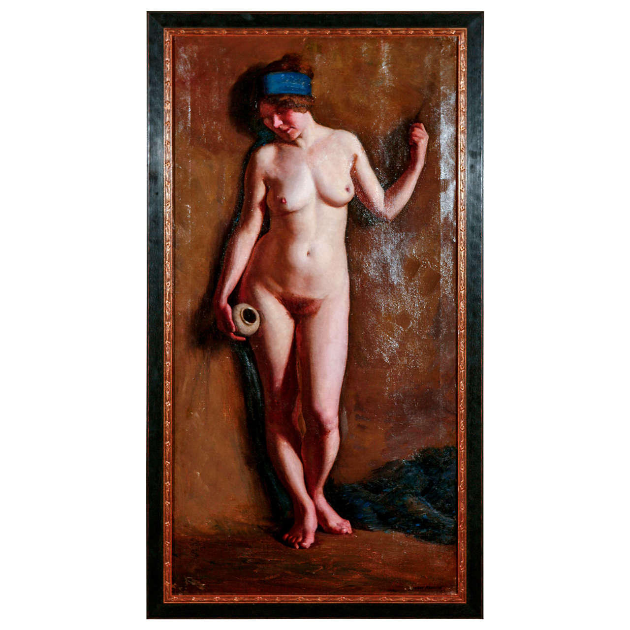 H. Farlow, Early 20th Century Nude Study For Sale