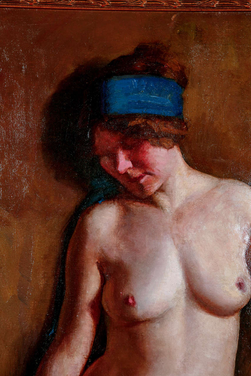 American H. Farlow, Early 20th Century Nude Study For Sale