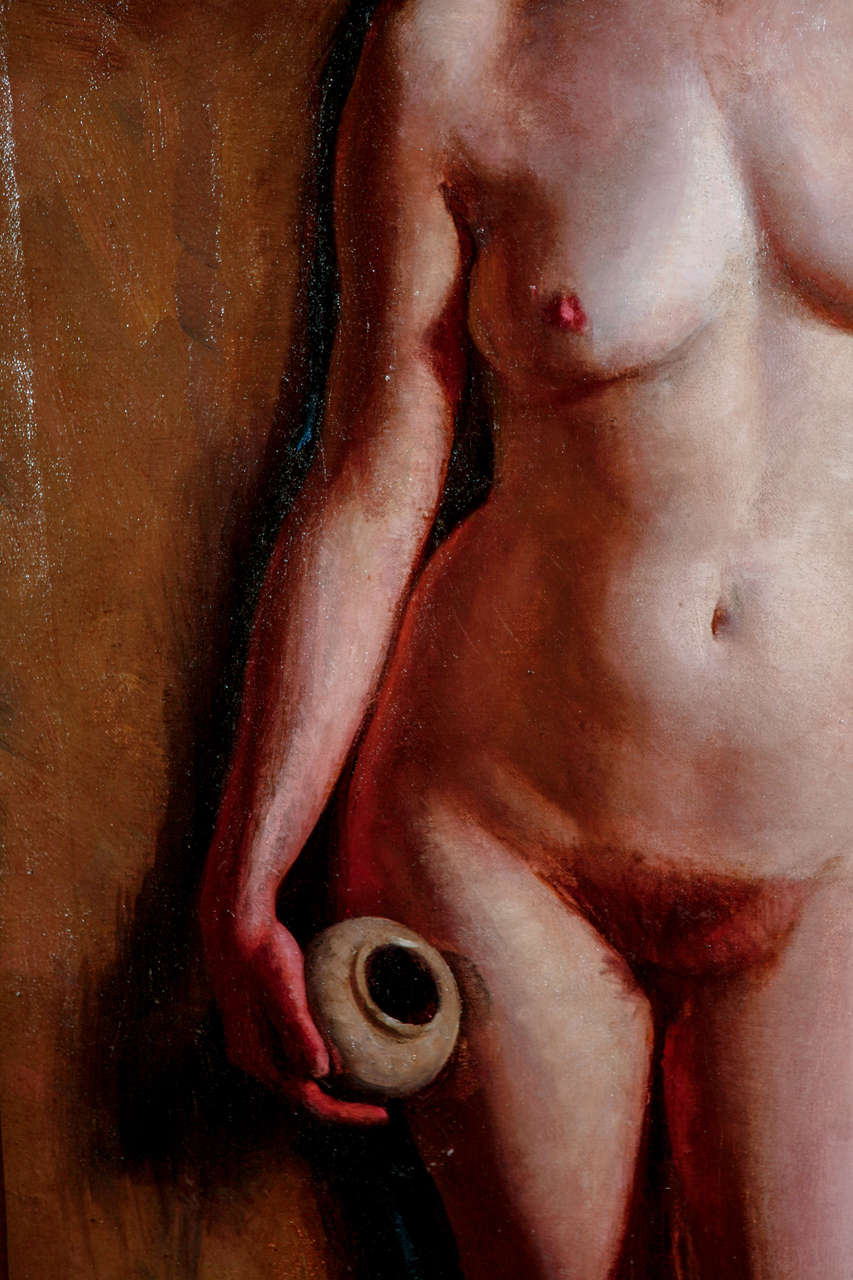 H. Farlow, Early 20th Century Nude Study In Good Condition For Sale In Los Angeles, CA