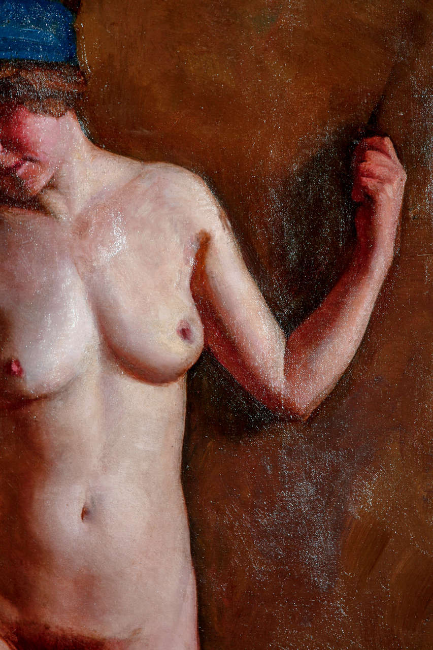 Canvas H. Farlow, Early 20th Century Nude Study For Sale