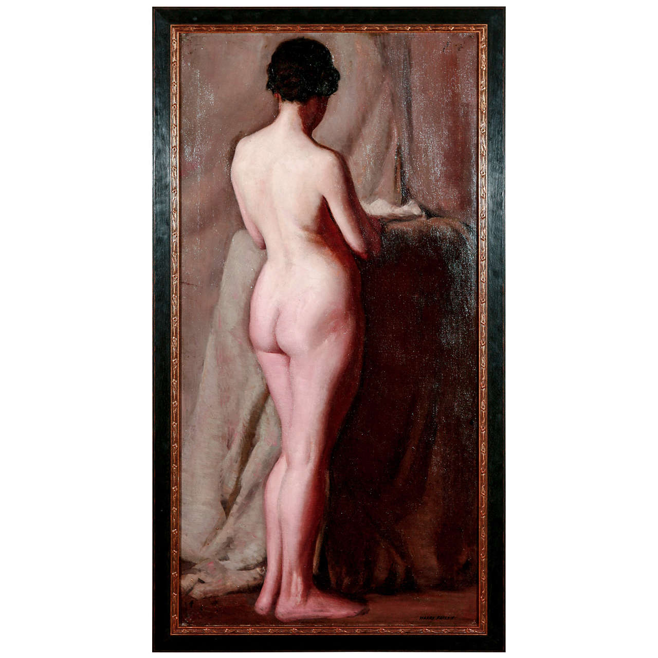 H. Farlow, Early 20th Century Nude Study II For Sale