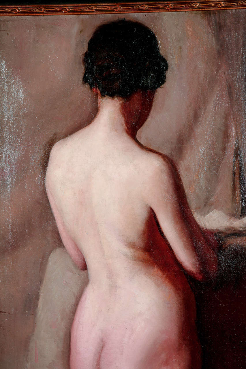 American H. Farlow, Early 20th Century Nude Study II For Sale