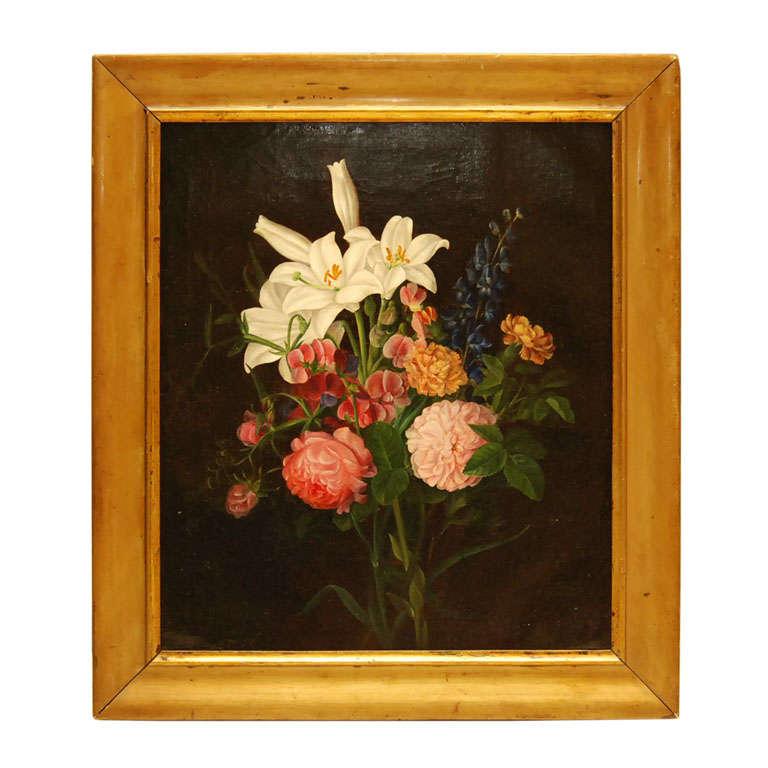 Classic Flower Still Life Painting