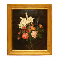 Classic Flower Still Life Painting