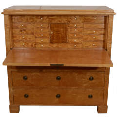 Late Biedermeier Secretary