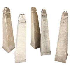 Five Stone Obelisks