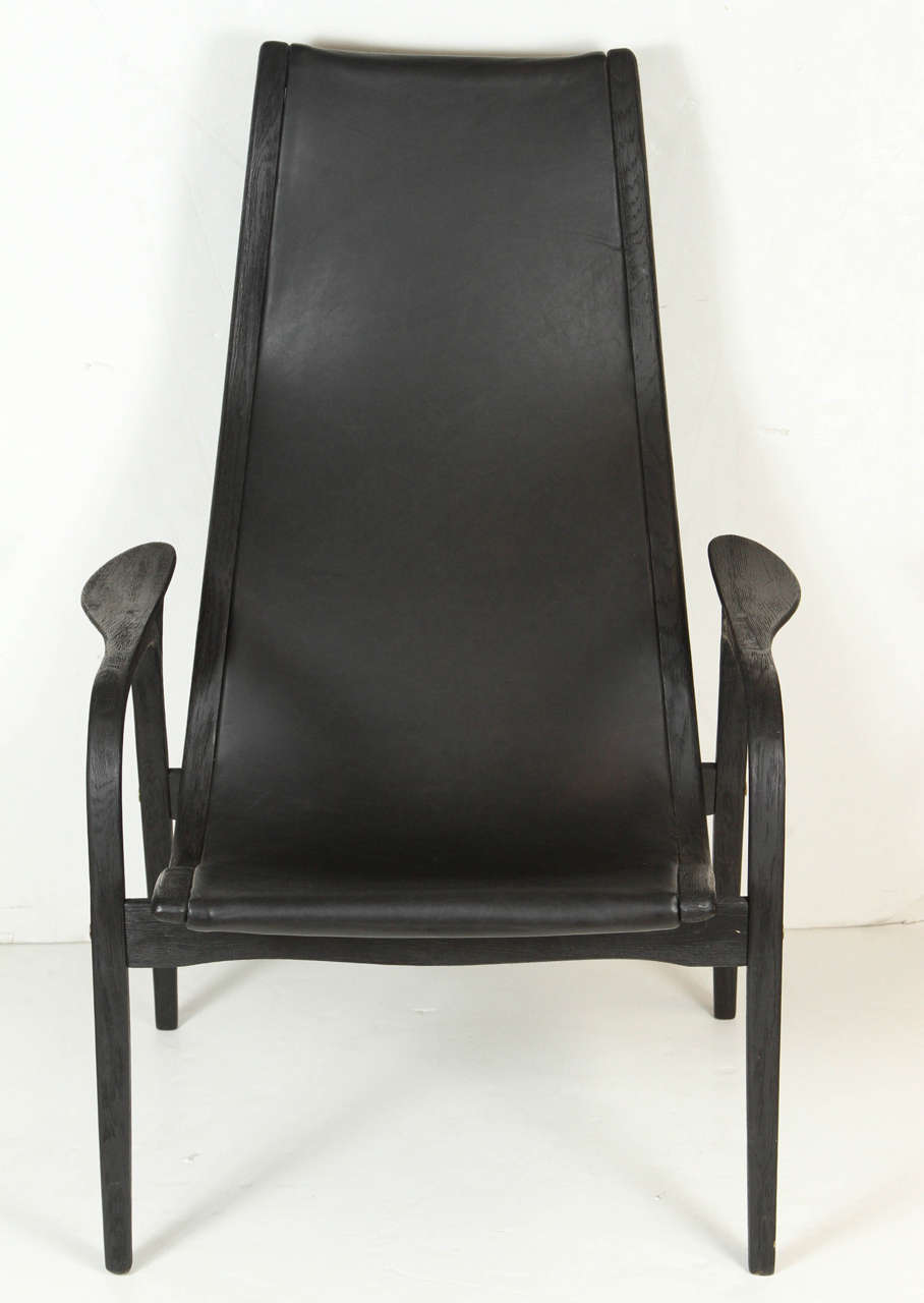 Yngve Ekstrom Lamino Lounge Chair For Sale at 1stdibs