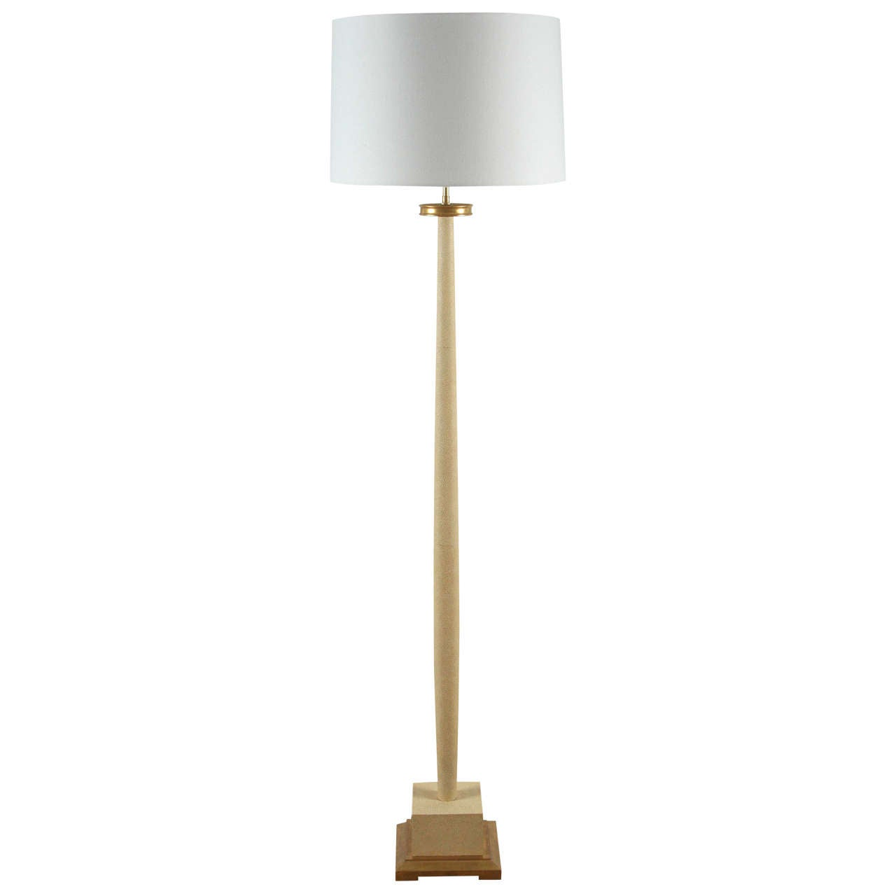 Paul marra faux shagreen floor lamp 1940s inspired cream for sale paul marra faux shagreen floor lamp 1940s inspired cream for sale aloadofball Gallery