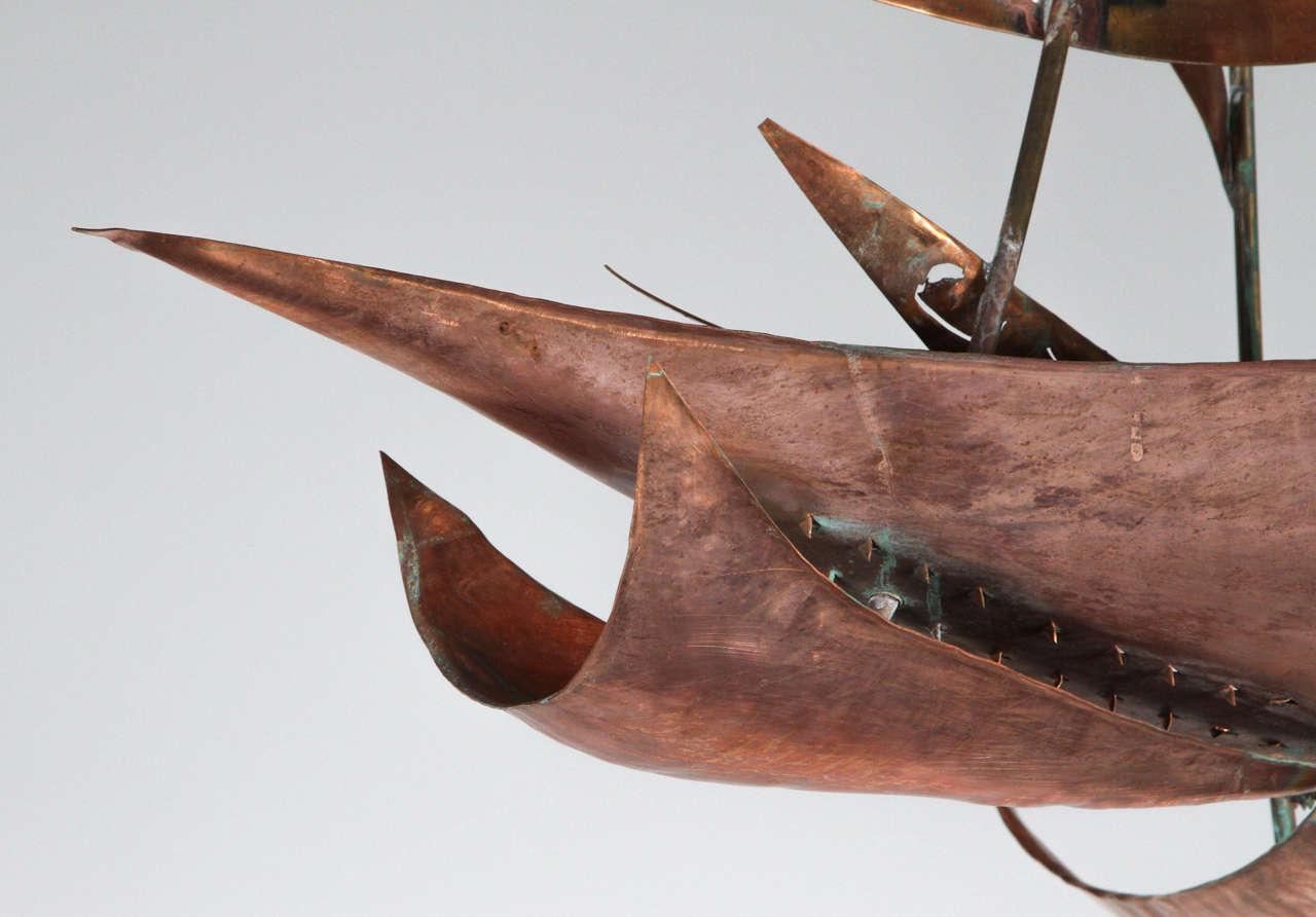 Brutalist Mid-Century Style Chandelier 4