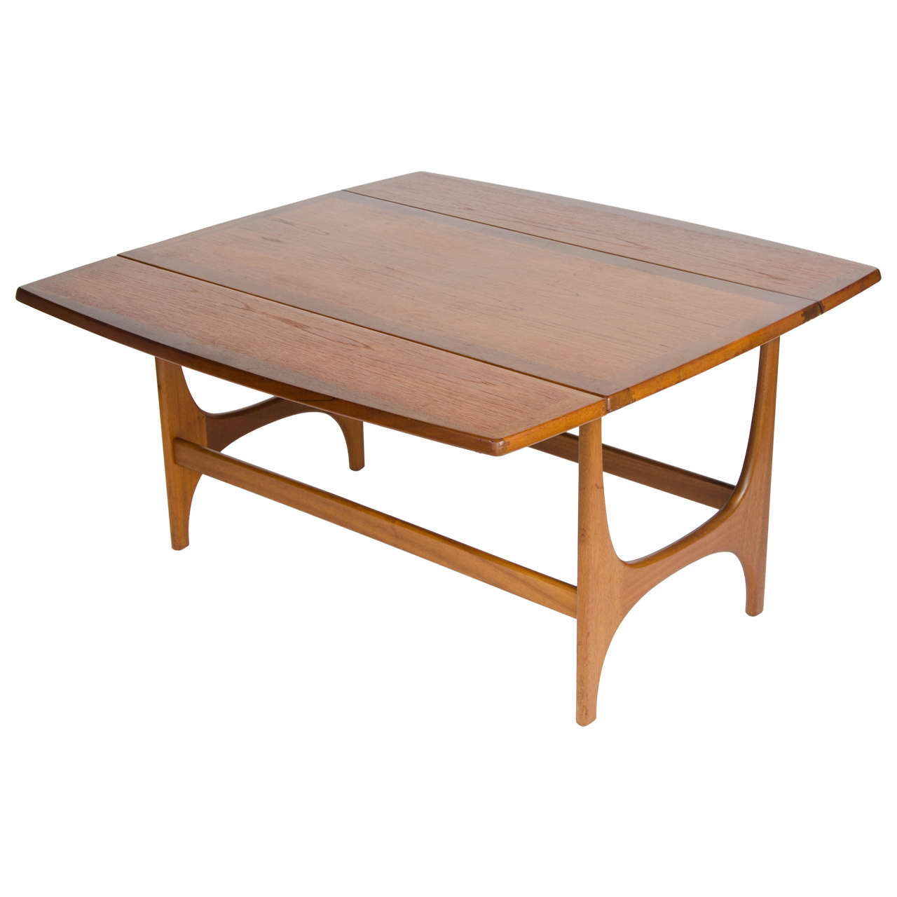 British 1960s stonehill coffee table at 1stdibs for Center coffee table furniture