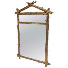 Sirmos Plaster Twig Mirror