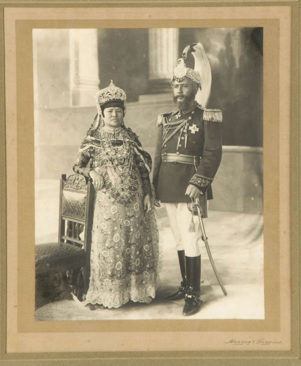 Early 20th Century Vintage Photography of a Maharaja by Herzog et Higgins circa 1910-1920