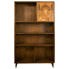 Exceptional Bookcase with Superb Marquetry by Otto Prutscher, circa 1920