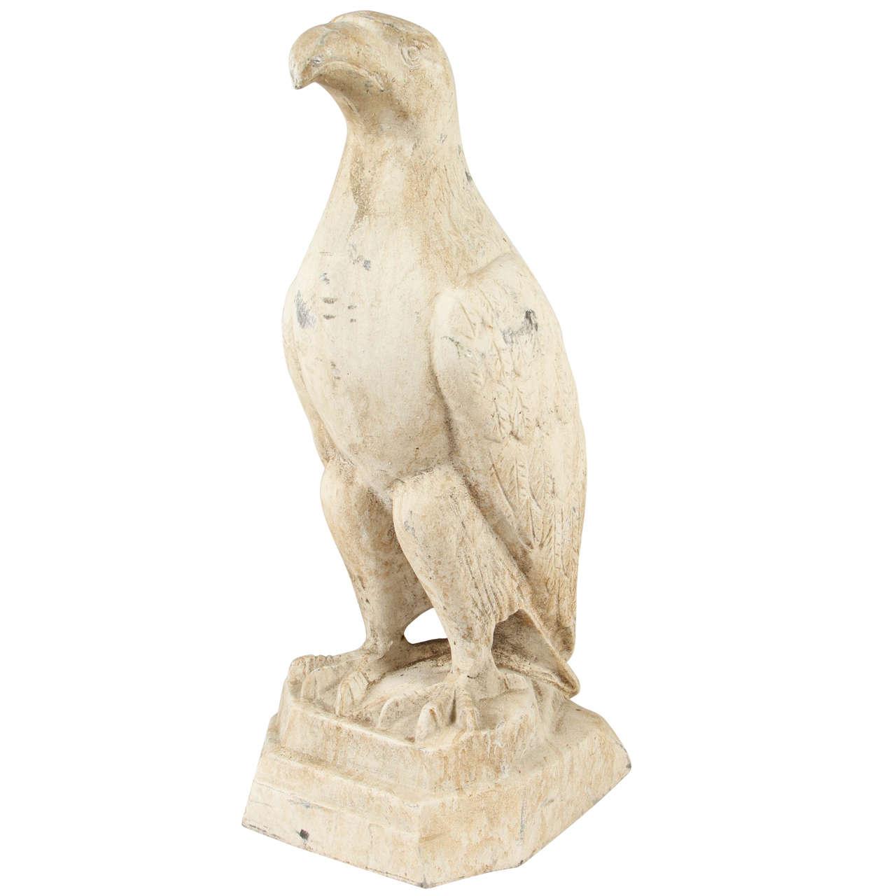 Garden Statue of an Eagle