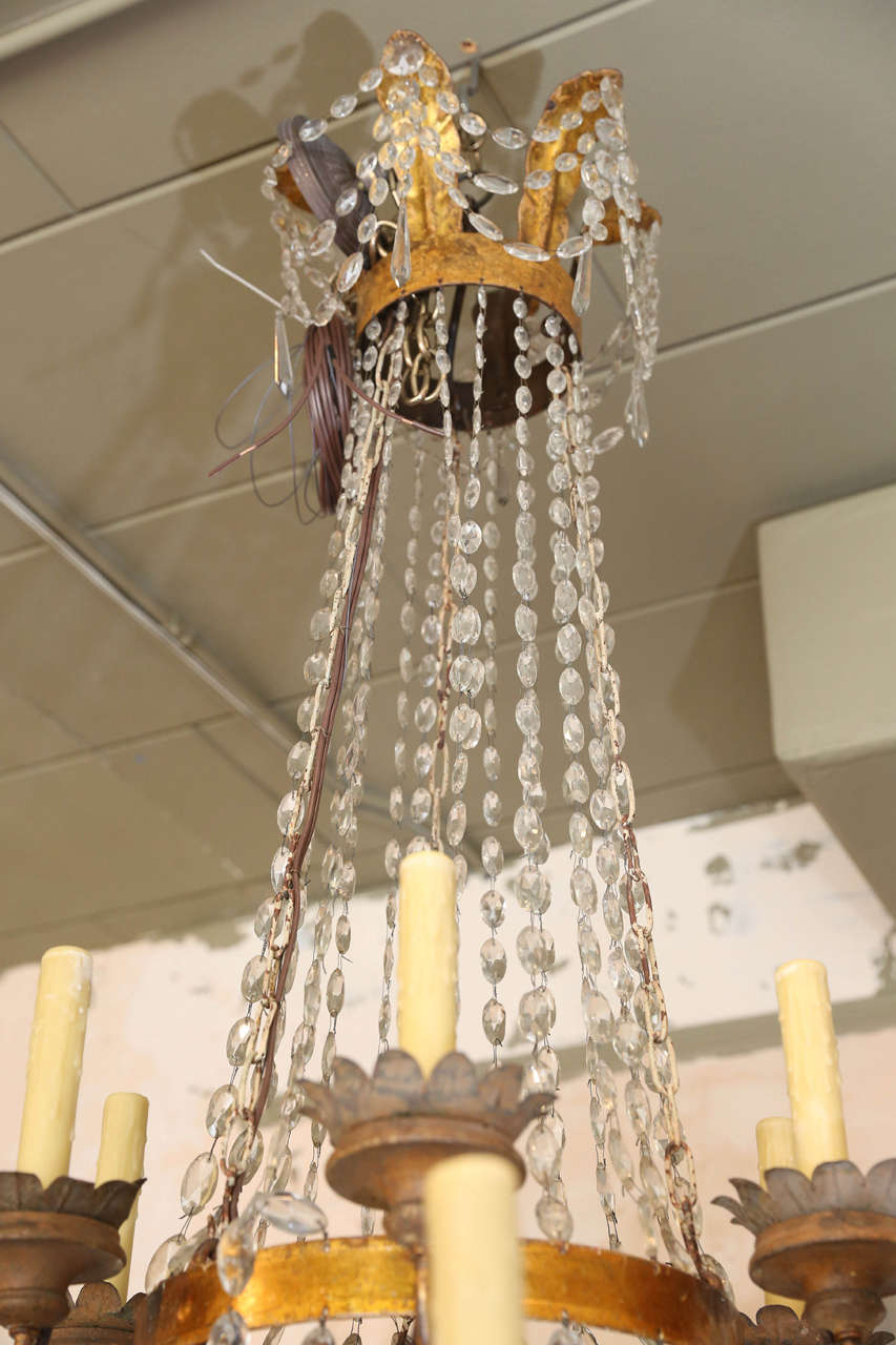 Large Early 19th Century Chandelier from Lucca 6
