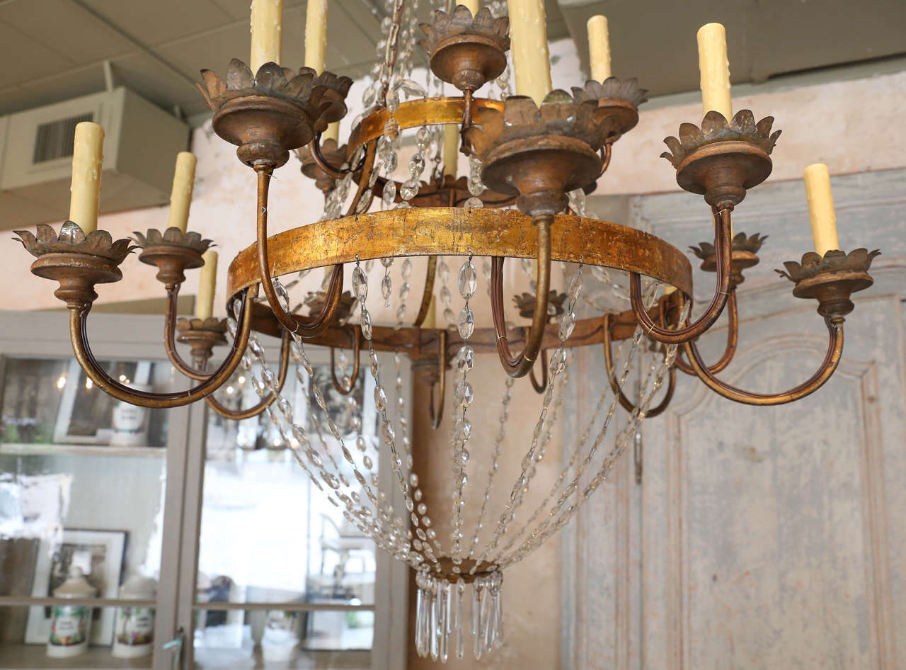 Large Early 19th Century Chandelier from Lucca 7