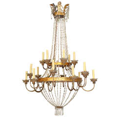 19th Century Chandelier from Lucca