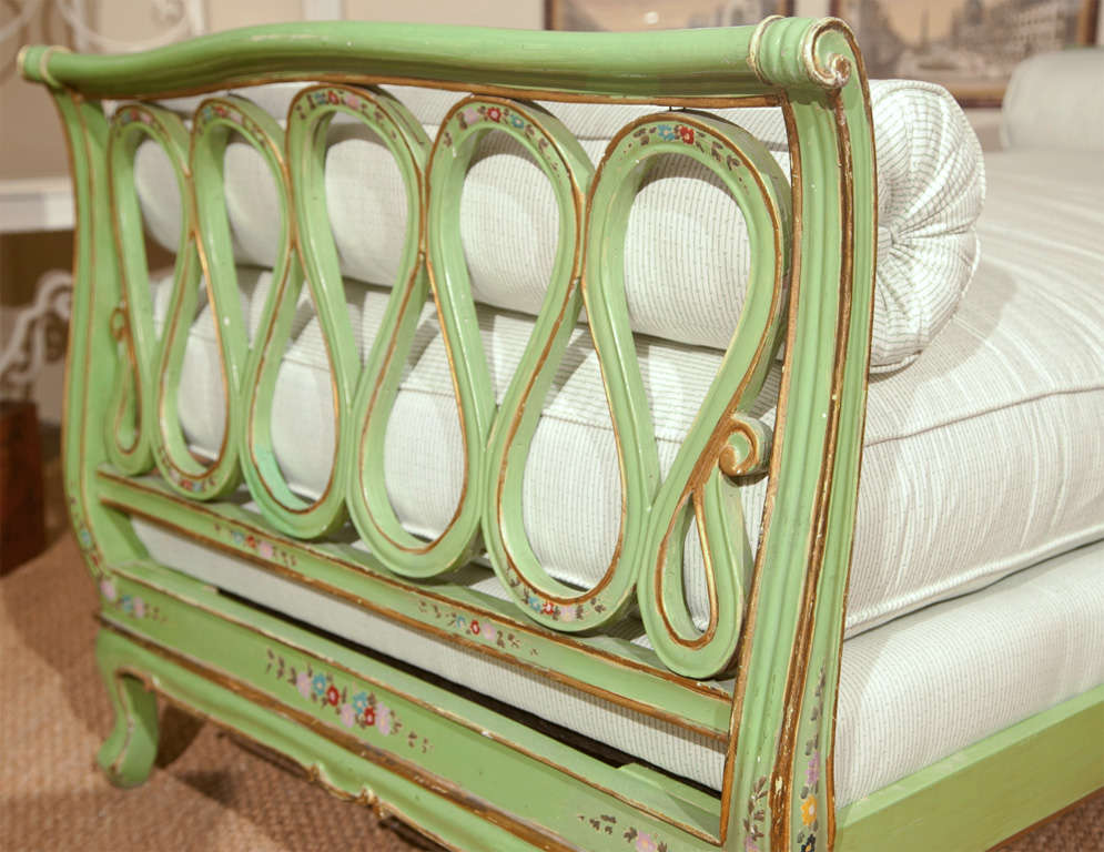 Painted Italian Style Daybed For Sale 3