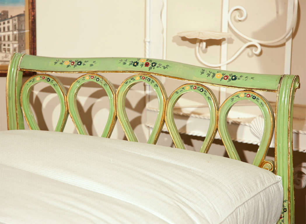 Painted Italian Style Daybed For Sale 6