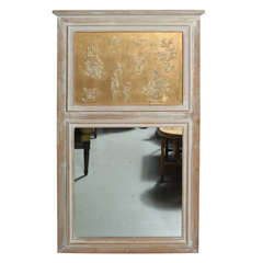 Chinoserie Trumeau Mirror from Yale Burge