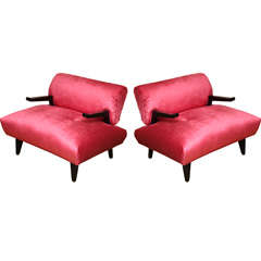 James Mont Lounge Chairs