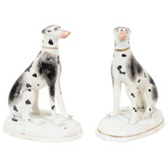 A Pair of Staffordshire Pointers