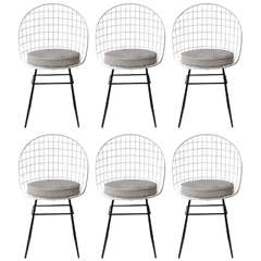 Set of Eight Cees Braakman Chairs for Pastoe