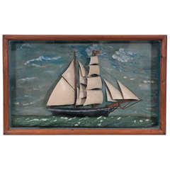 19th Century Ships Diorama