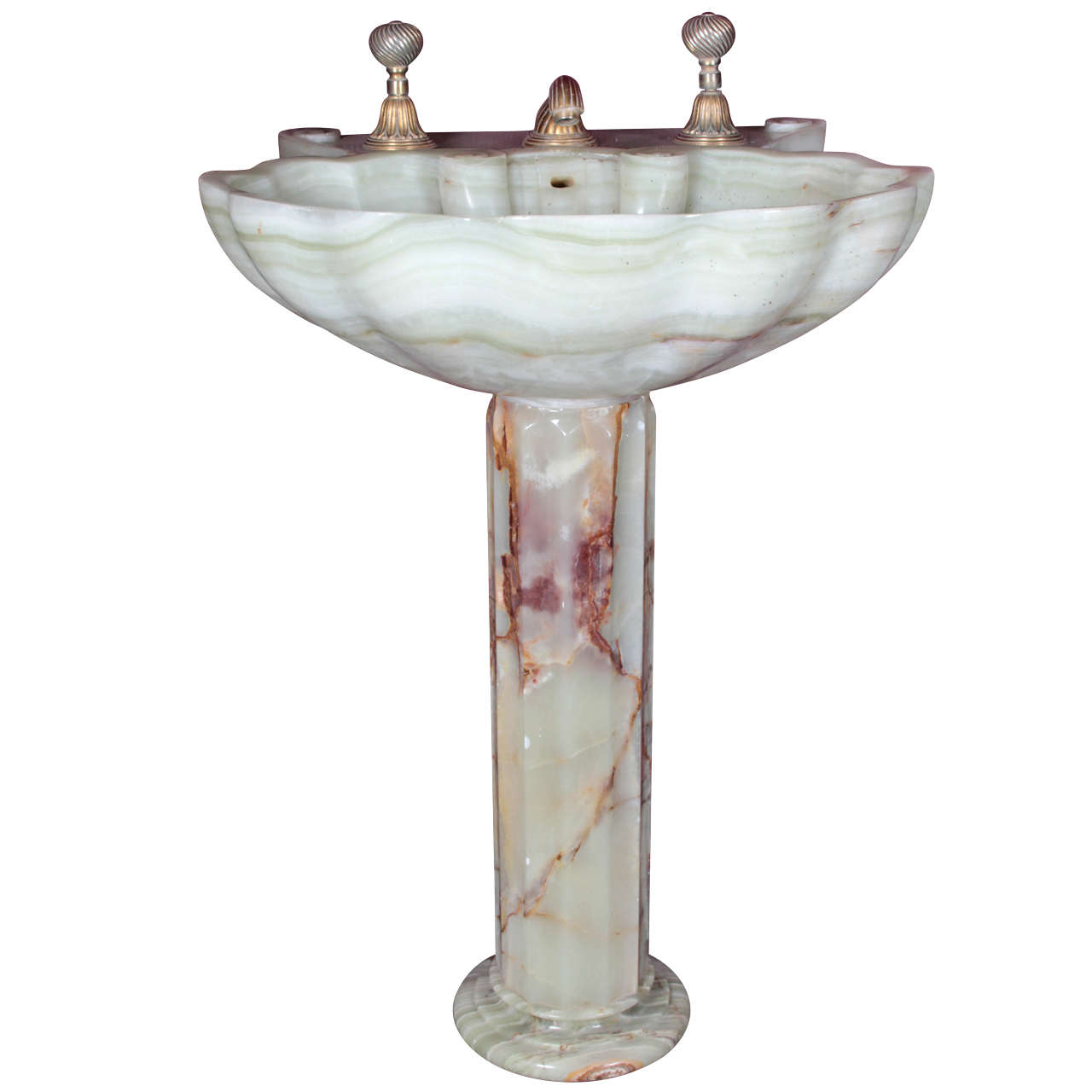 Sherle Wagner Onyx Sink At 1stdibs