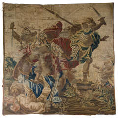 17th Century Flemish Battle Scene Fragment