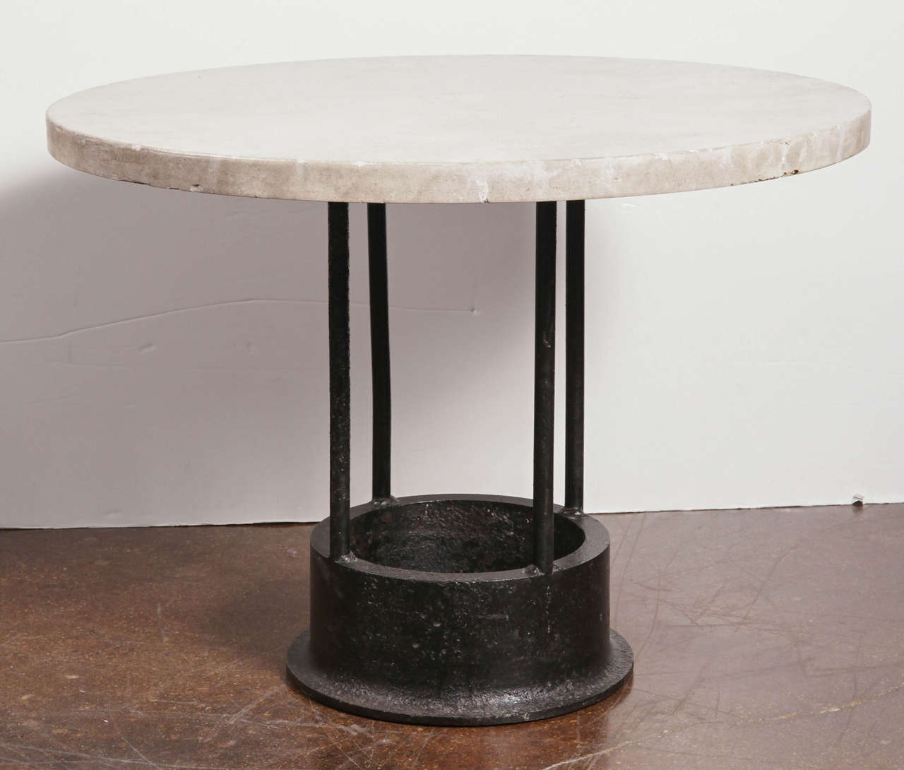 Vintage Cast Iron Tool Mount Dining Table at 1stdibs : B from 1stdibs.com size 1280 x 1090 jpeg 74kB