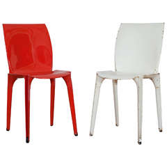 Pair of 'Lambda' Chairs Designed by Marco Zanuso for Gavina, Italy