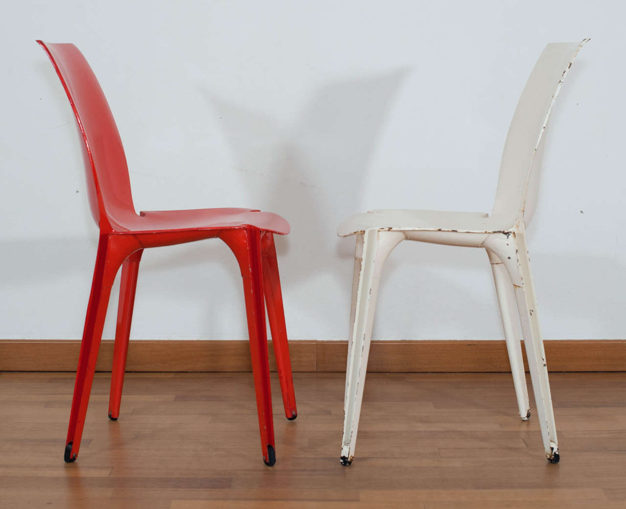 Mid-Century Modern Pair of 'Lambda' Chairs Designed by Marco Zanuso for Gavina, Italy For Sale