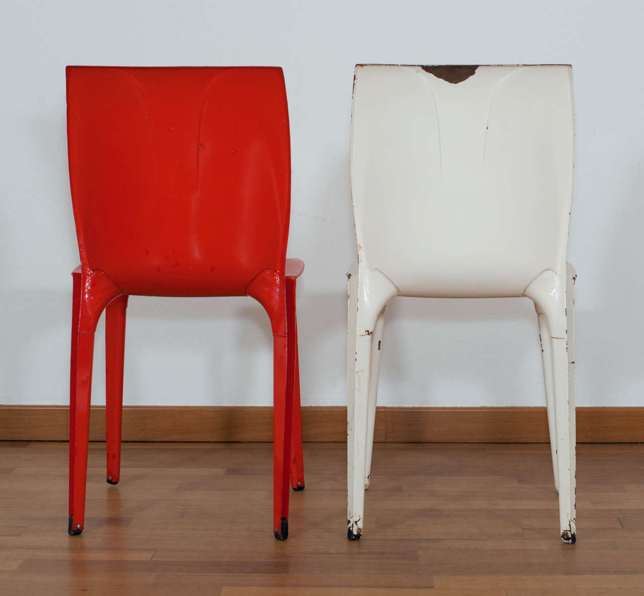 Italian Pair of 'Lambda' Chairs Designed by Marco Zanuso for Gavina, Italy For Sale