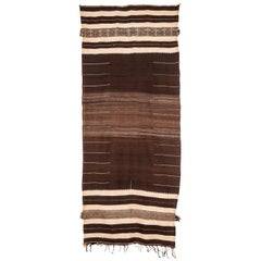 High Atlas Berber Flat-Weave Rug