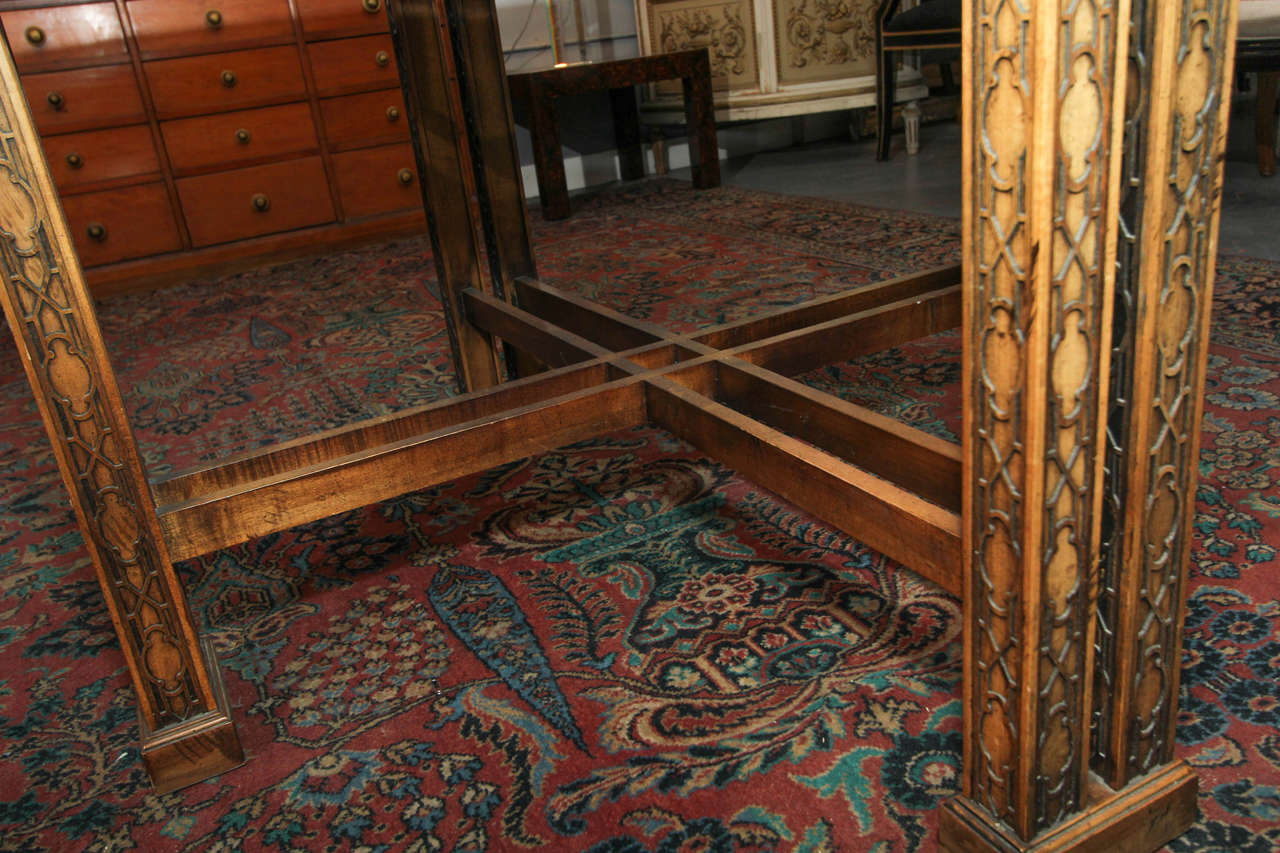Maguire Chinoiserie Octagonal Table For Sale 3