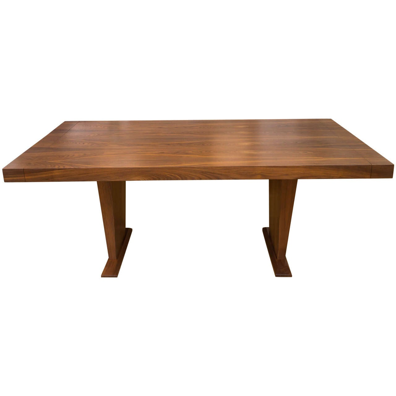 Beautiful walnut dining table at 1stdibs for Beautiful dining table and chairs