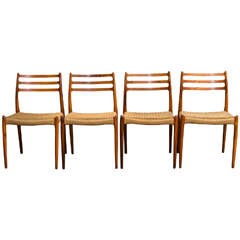 Moller Rosewood Dining Chairs