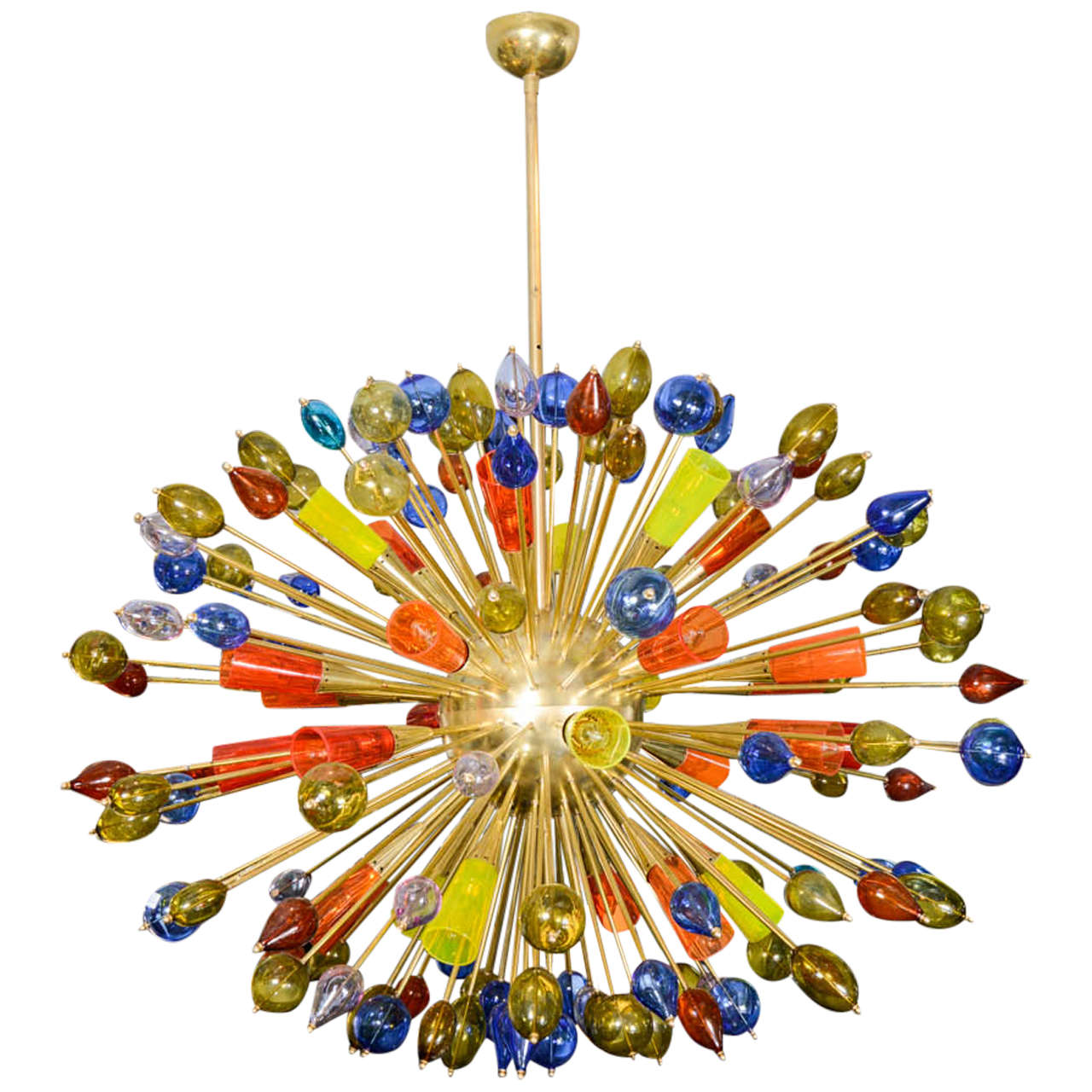 Chandelier in Murano Glass 1