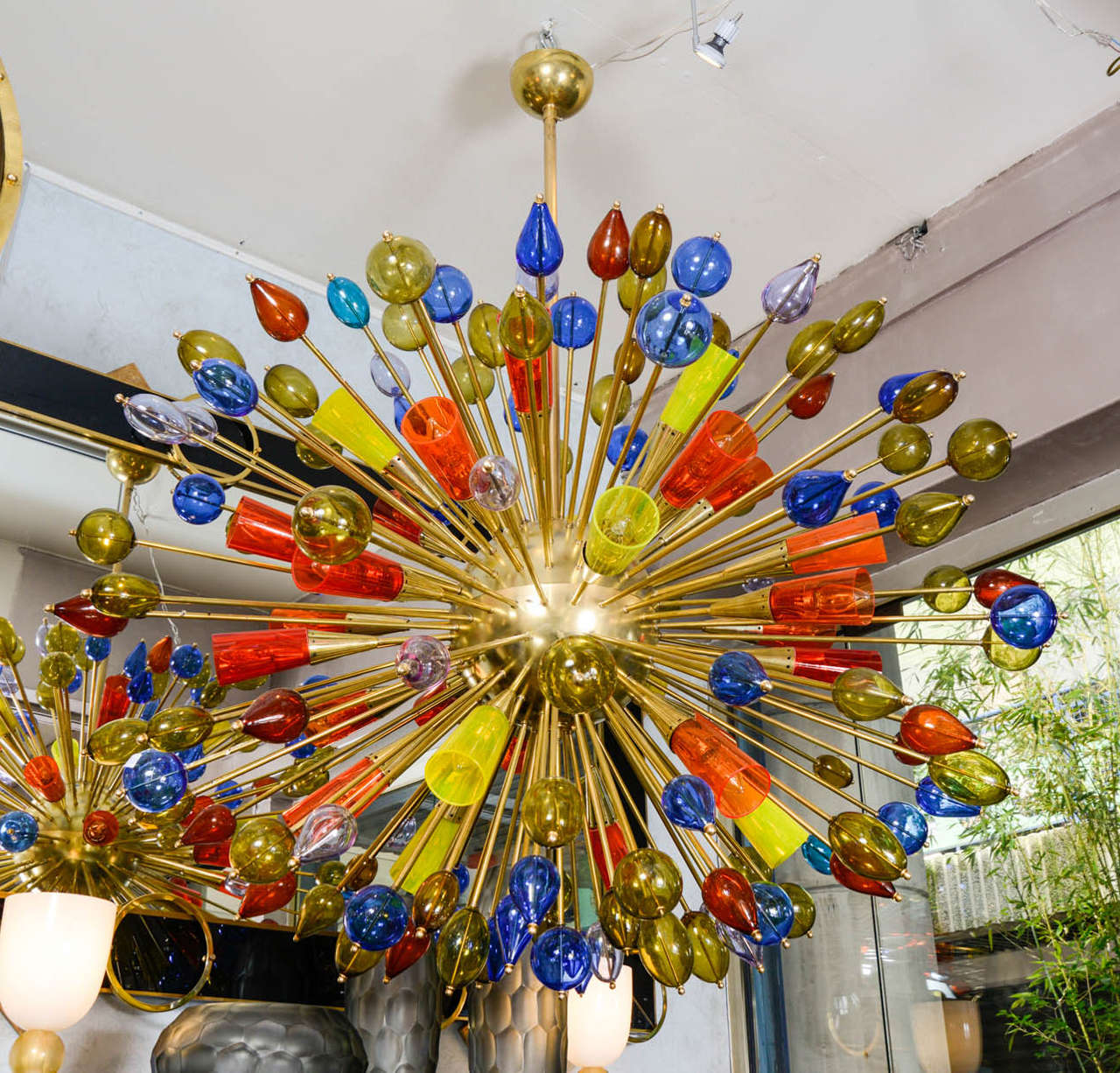 Chandelier in Murano Glass 9