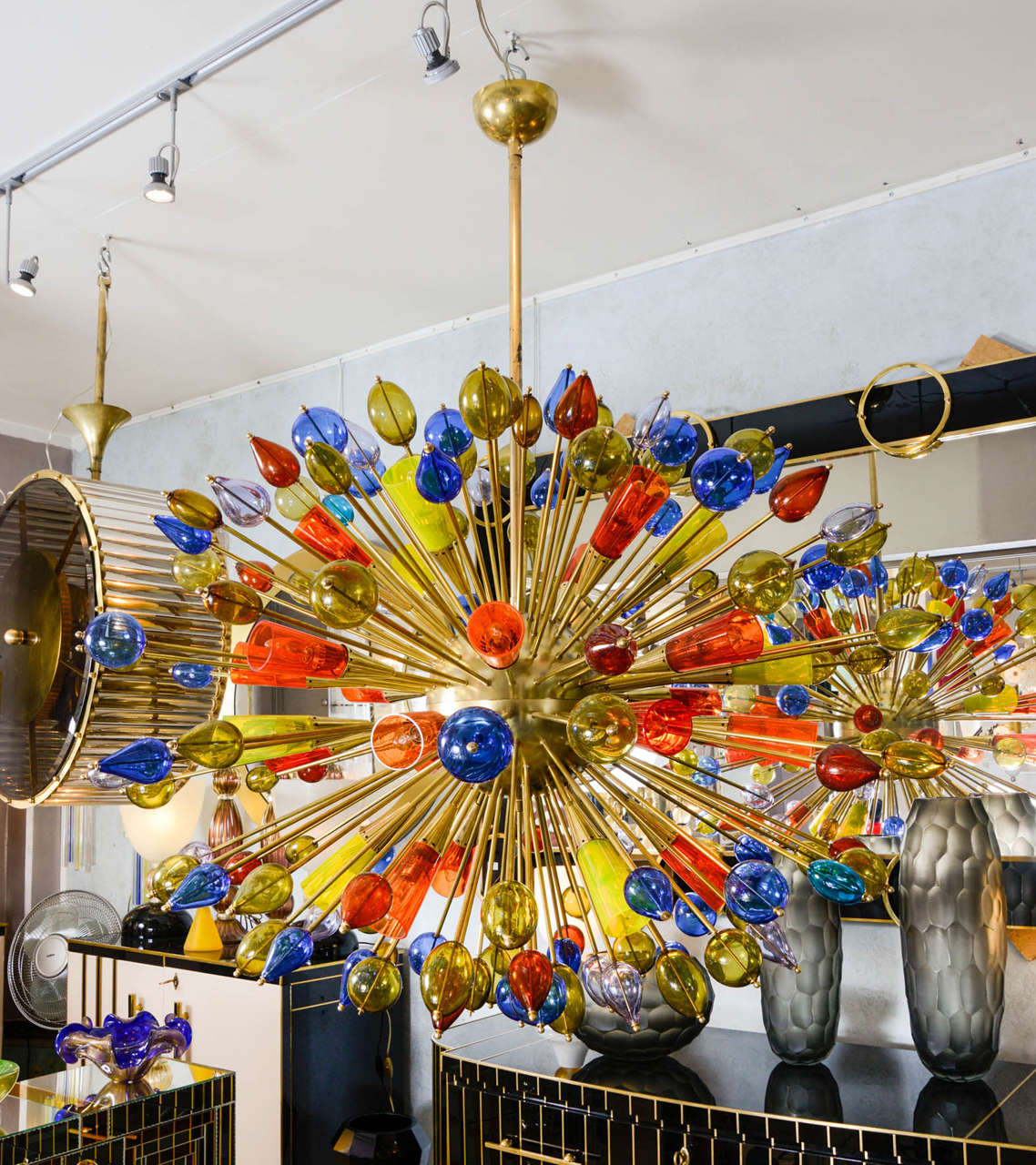Chandelier in Murano Glass 10